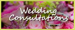 Wedding Consultations